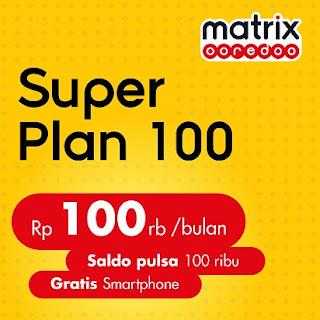 Paket Matrix Ooredoo Super Plan, Pilih Sendiri Smartphone Gratisnya
