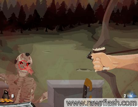 Jogos de tiro, tower defense: Khazyle. Mate zumbis, esqueletos e outros monstros enquanto defende seu forte.