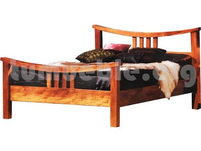 cama madera teca 4053