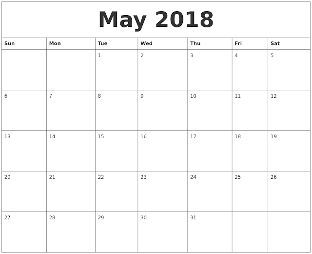 Download May 2018 Calendar, May Calendar 2018, May 2018 Calendar Printable, May 2018 Calendar Template, May 2018 Calendar with Holidays, May 2018 Calendar PDF, May 2018 Calendar Excel, May 2018 Calendar Word, Calendar May 2018, May 2018 Blank Calendar