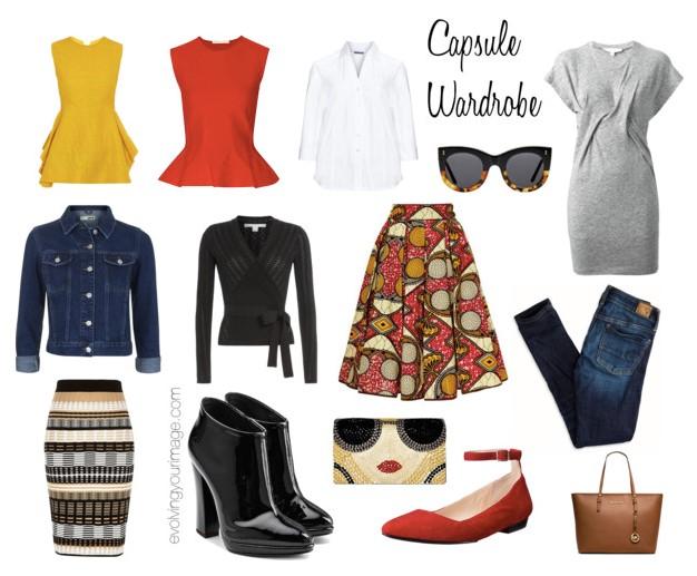Fifty Not Frumpy Capsule Wardrobe