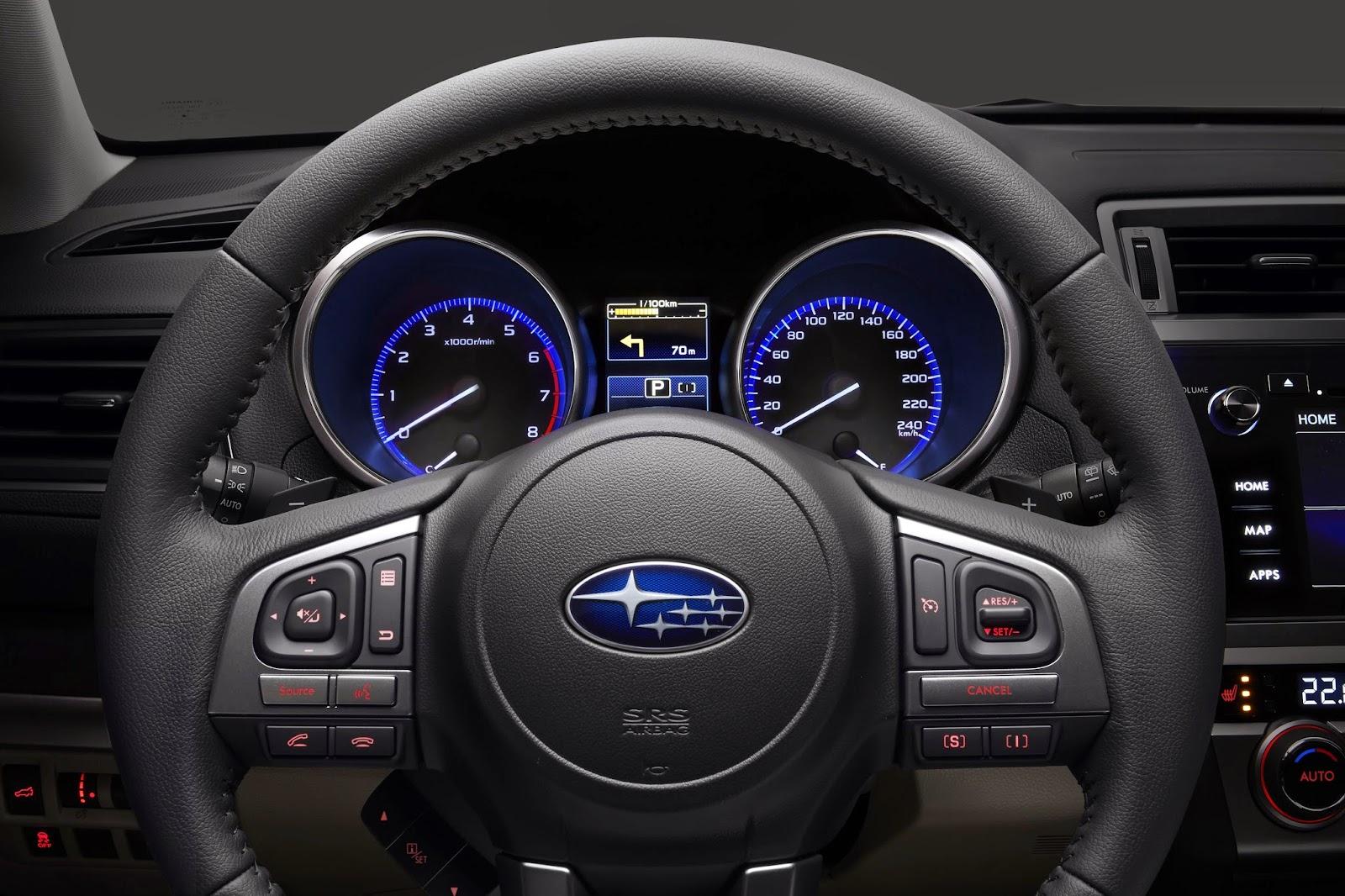весь модельный ряд автомобилей Subaru и цены 2015-2016