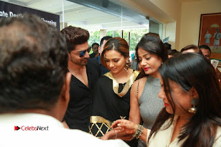 Bollywood Actress Sana Khan Launches Aakrithi Exibition  0428.JPG