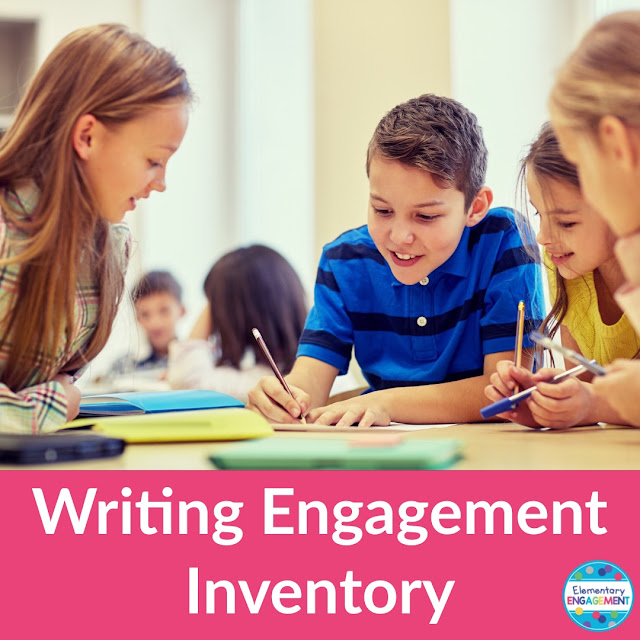 This post shares a free Writing Engagement Inventory to help create groups for writing stamina.