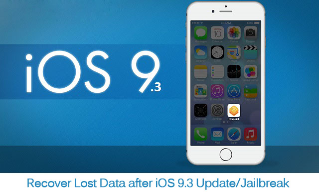 iOS Data System Recovery: How to Recover Lost Data from iPhone iPad