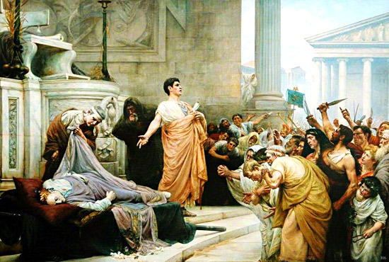 abuse of power in julius caesar Julius caesar study guide  the conspiracy to murder caesar because he think caesar will abuse his power is he is  it would diminish mark antony's power.