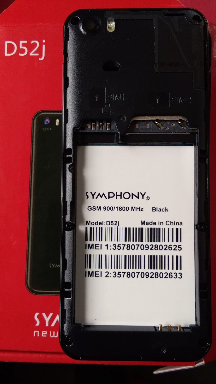 SYMPHONY D52J FLASH FILE MT6260 FREE DOWNLOAD 100% TESTED - Frp Expart