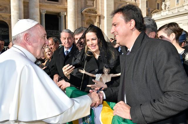 Camilo pede ao Papa Francisco a beatificação de padre Cícero