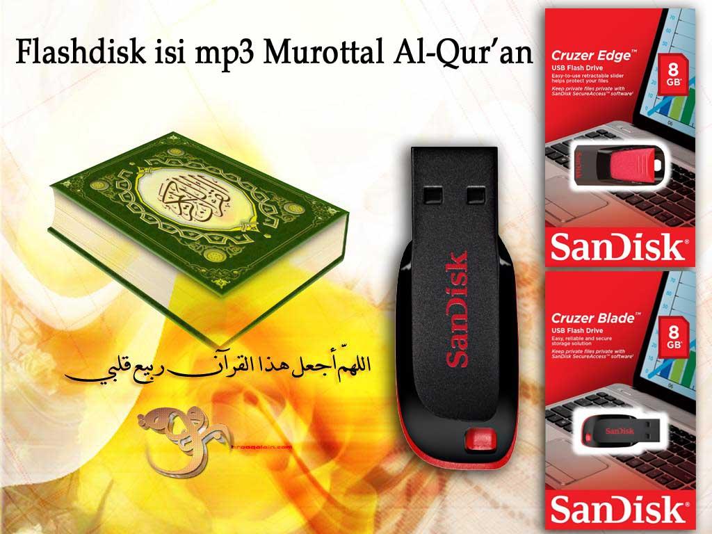 Usb Flashdisk 8gb Sandisk Isi Kumpulan Mp3 Murottal Al Quran 30 Juz Fd Cruzer 20 Original Rp 90000