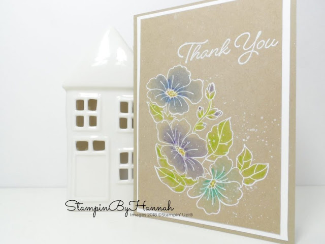 Blended Seasons by Stampin Up