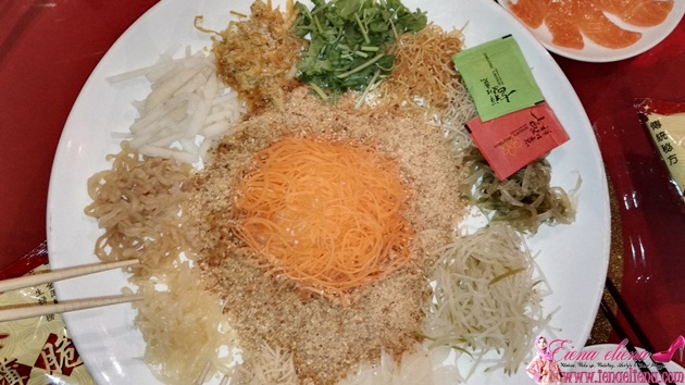 CNY DINNER AT SPRING GARDEN KLCC - Lou Sang