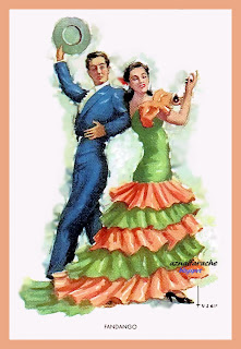 Bailes andaluces - Tuser - Fandango