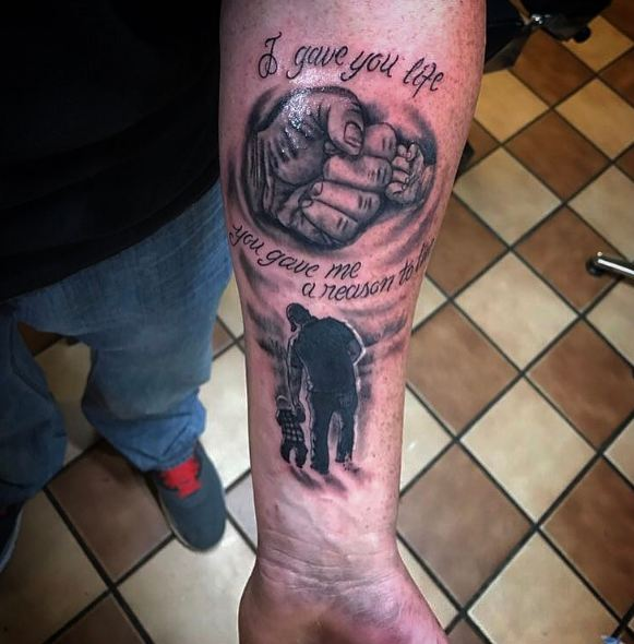 17 Best Ideas About Father Son Tattoos On Pinterest: 50+ Adorable Father Son Tattoos For Men (2018