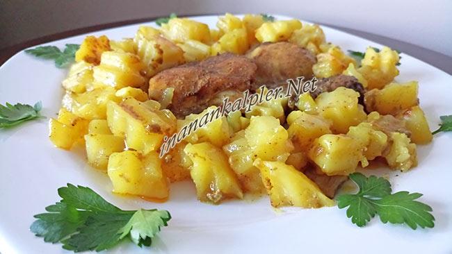 Fırın Poşetinde Patatesli Tavuk Baget Tarifi - www.inanankalpler.net
