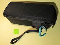 Optik: Tragbare Tragetasche Lycra EVA Spielraum-Speicher-Schutzhülle Box Bag für Bose Soundlink Mini and Soundlink mini Ⅱ Bluetooth Wireless Speaker-Black