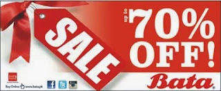 Bata Footwear 70% off