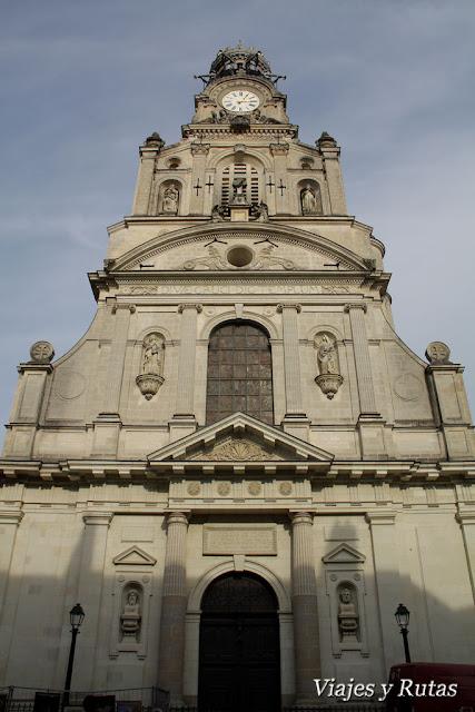 Iglesia de Santa Cruz, Nantes