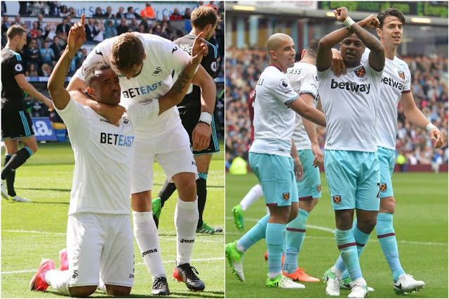 Ayew Brothers strike in the same minute on final day of EPL [Video]