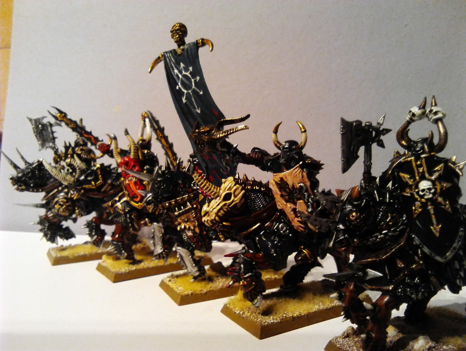 Accidental Painter Games Workshop Chaos Knights