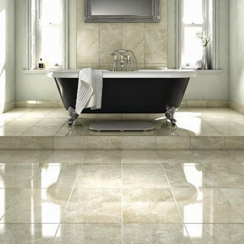 Dark spanish emperador tiles: Durable for colorful life