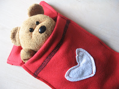 Upcycled Teddy Sleeping Bag Tutorial