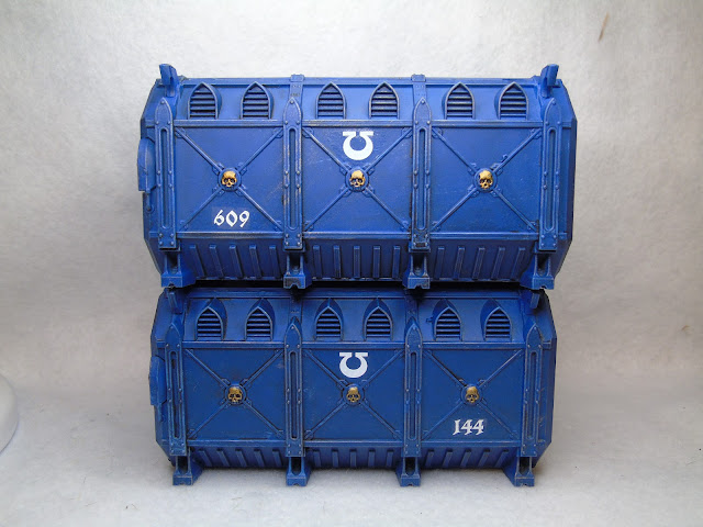 ultramarine munitorum armoured crate container 30k 40k scenery