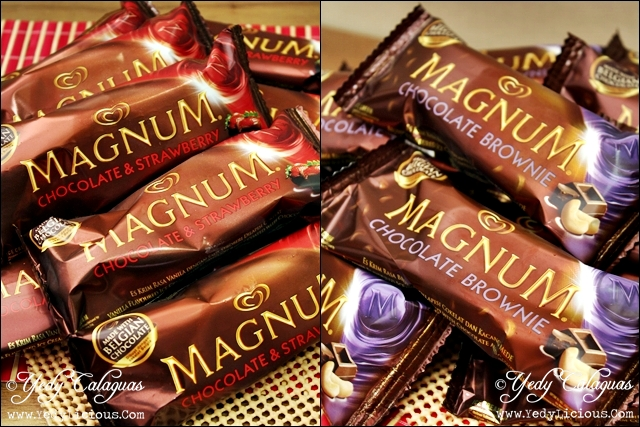 new flavors of magnum ice cream yedylicious manila food blog on asian and filipino food recipe. Black Bedroom Furniture Sets. Home Design Ideas