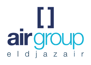 Air group eldjazair Logo Vector