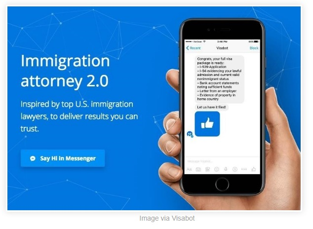 Facebook Messenger's 'Visabot' Will Now Help You Apply For Your Green Card