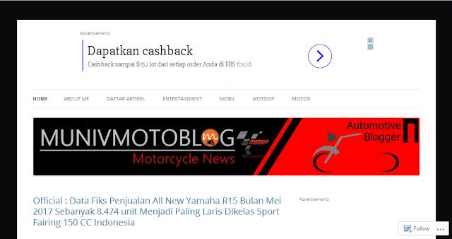 Munivmotoblog.com - Blog Otomotif  Terbaik Di Indonesia