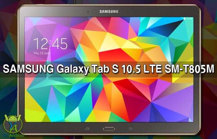 Download T805MUBS1AQA2 | Galaxy Tab S 10.5 LTE SM-T805M