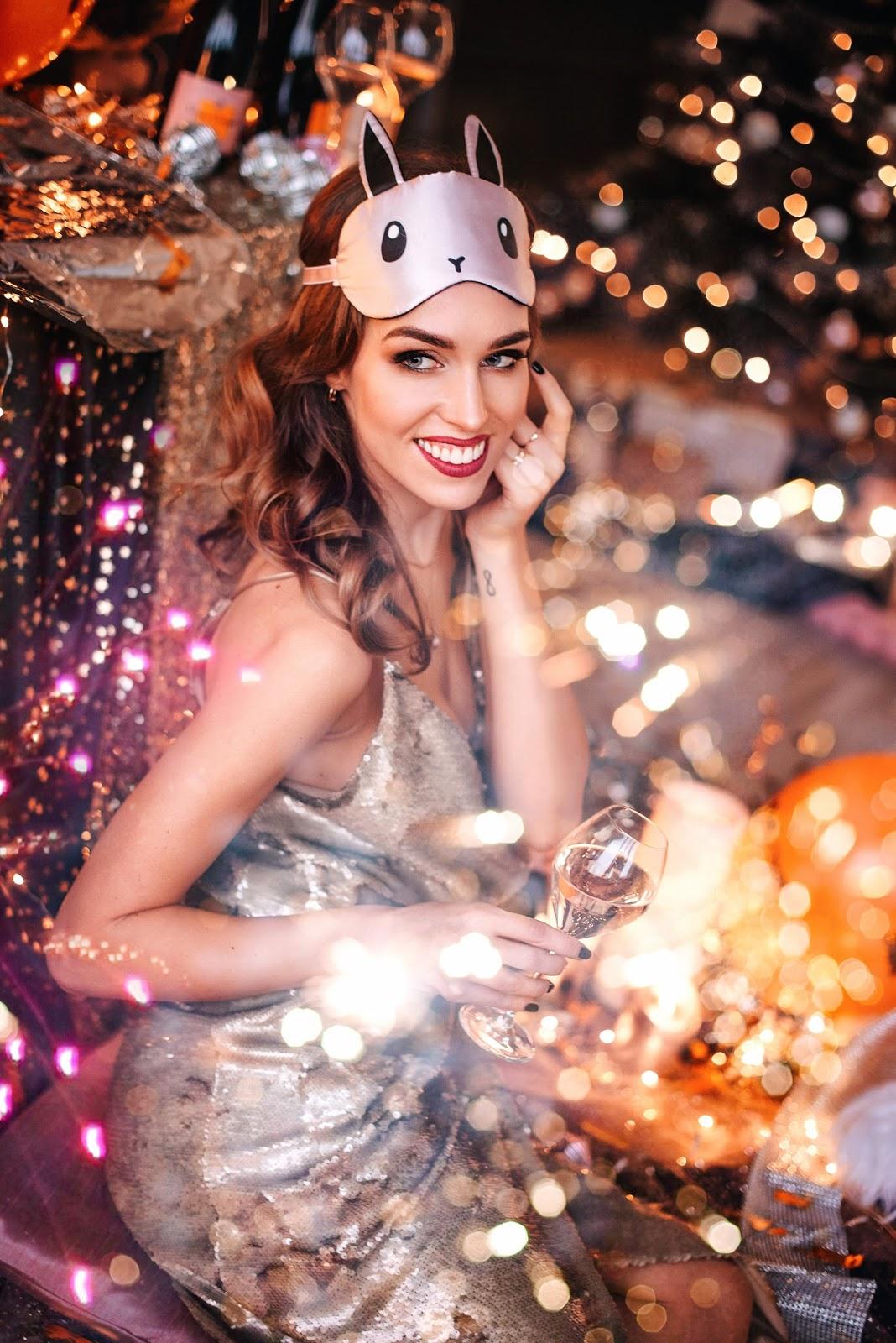 sequin dress glitter party celebration nye photoshoot