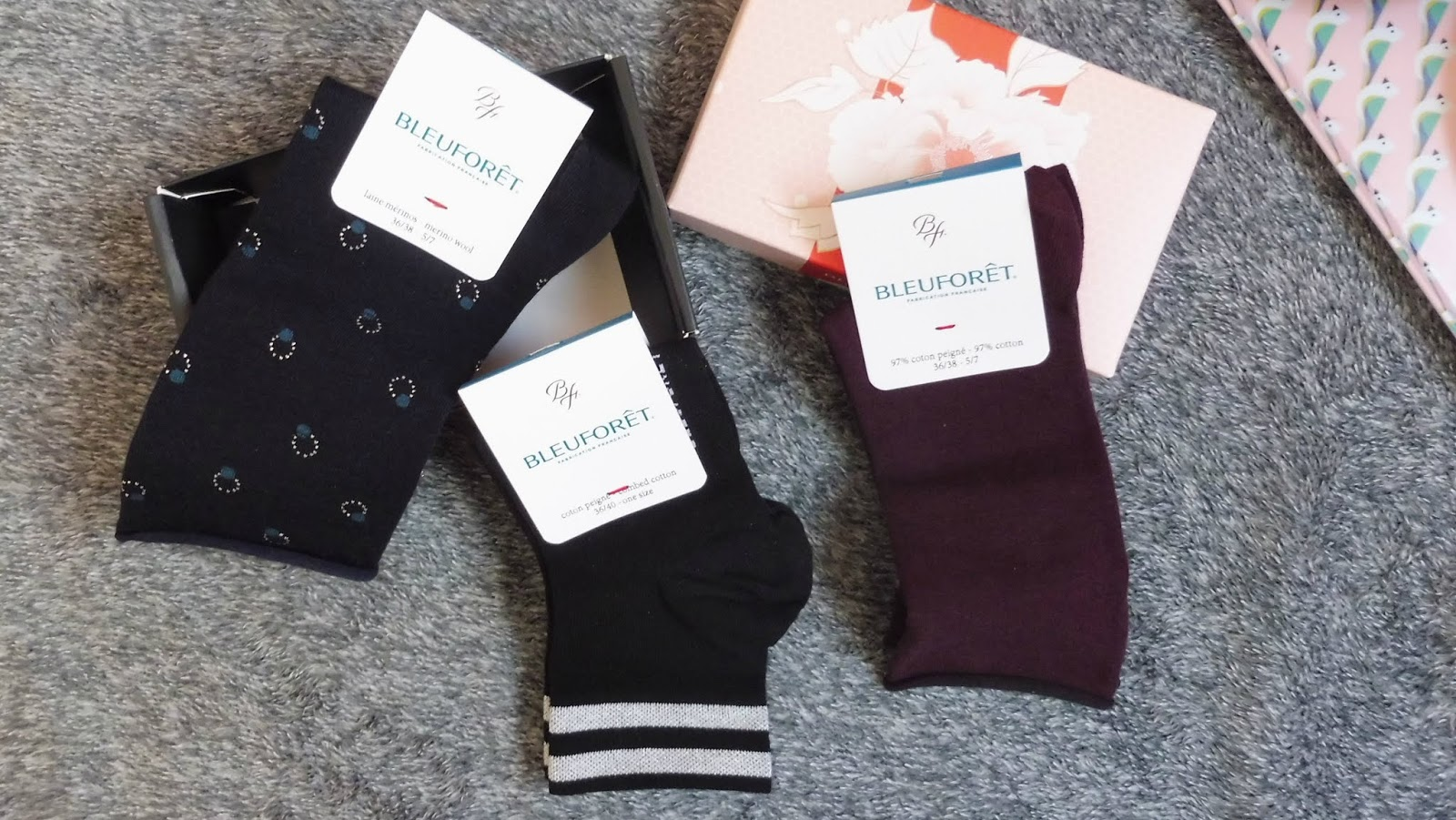 Bleuforêt, tout le savoir-faire français dans des chaussettes ! #concours - Lili LaRochelle à Bordeaux