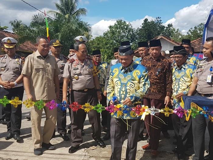 Kapolda Lampung Resmikan Ide Sicantik Dikantor Mapolres Tulang Bawang Barat
