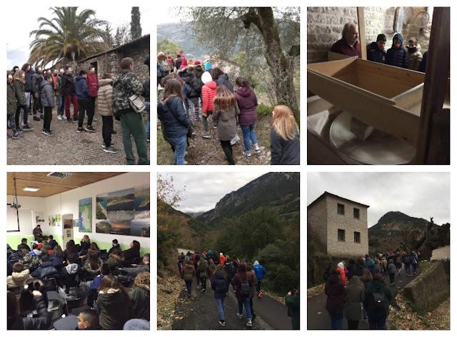 Χειμερινές διαδρομές του 3ου Γυμνασίου Ηγουμενίτσας με το Κ.Π.Ε. Φιλιατών