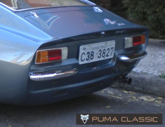aeaa4b015 No GTE 1600 de 1970 a 1972, o painel traseiro sofre uma pequena inclinação  inferior aumentando o espaço para a luz de placa. São colocadas as saídas  de ar ...