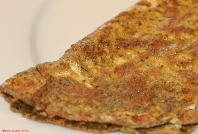 Lebanese Dried Mint Omelet Recipe