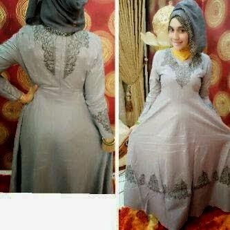 Cari baju gamis mewah harga murah model cantik desain terbaru nyaman dipakai 20e0531932