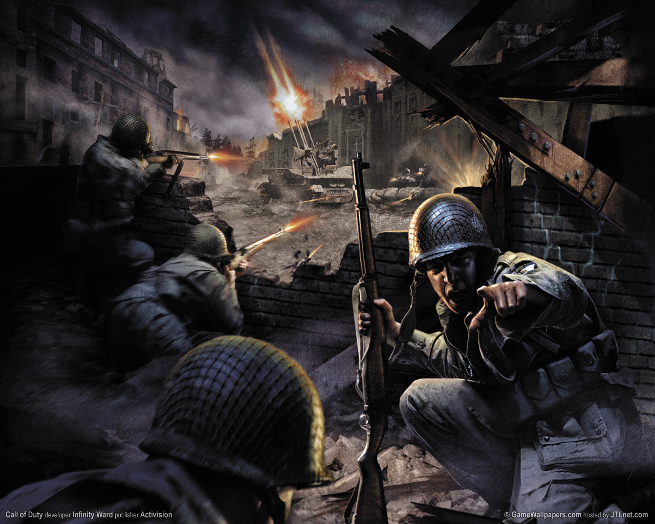 HD WALLPAPERS: Call of Duty 2 HD Wallpapers