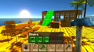 Game Raft Survival Simulator App