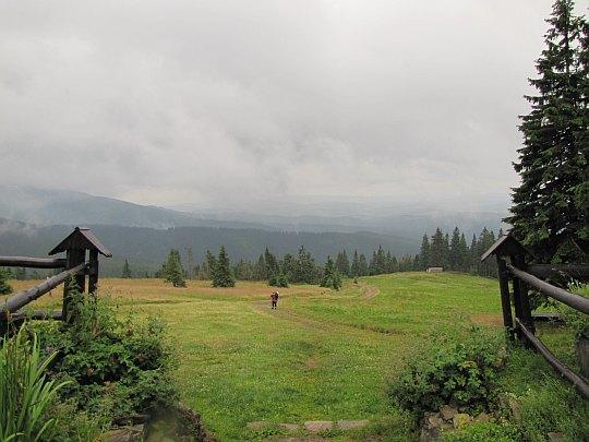 Panorama z Hali Rysianka.
