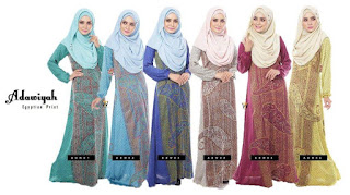 ADAWIYAH EGYPTION PRINT SOLD OUT