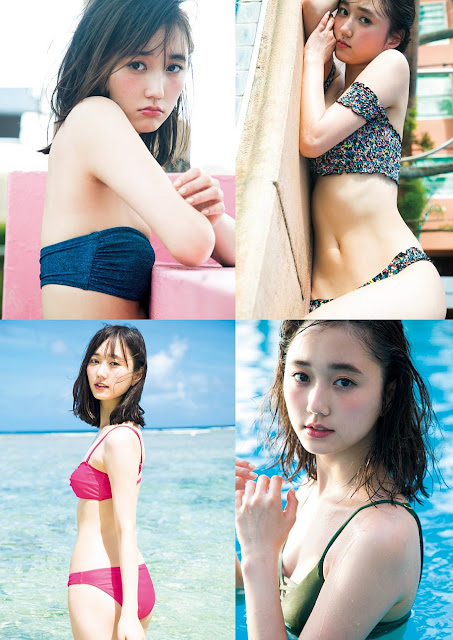 Suzuki Yuuna (鈴木友菜) non-no Model in Guam 2