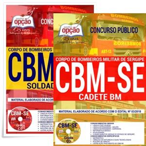 Apostila CBM-SE Cadete BM (Combatente) 2018