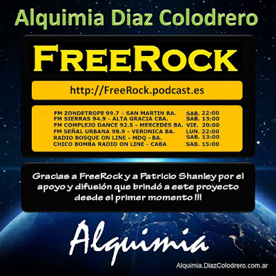 FreeRock & Alquimia Diaz Colodrero