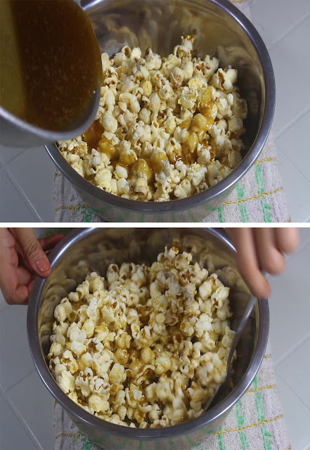 This is how to cook Popcorn on the stove.