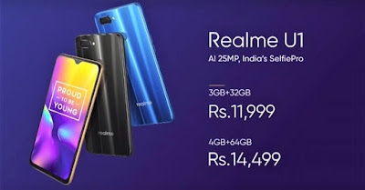 Realme U1 - Full phone specifications