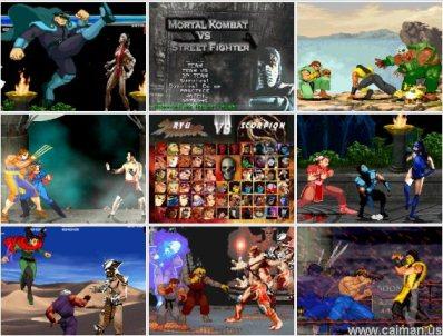 FREE DOWNLOAD GAME Mortal Kombat VS Street Fighter (PC/ENG ...