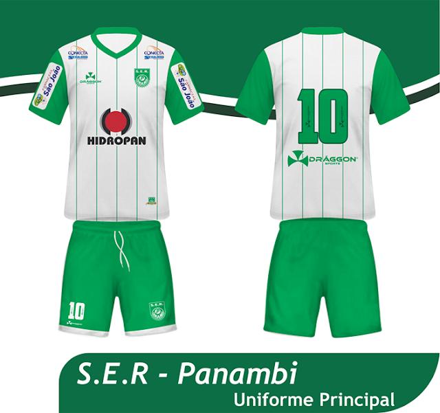 b5f5ef3255014 Draggon apresenta as novas camisas do Panambi - Show de Camisas