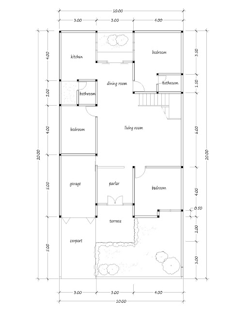 small house plan 15